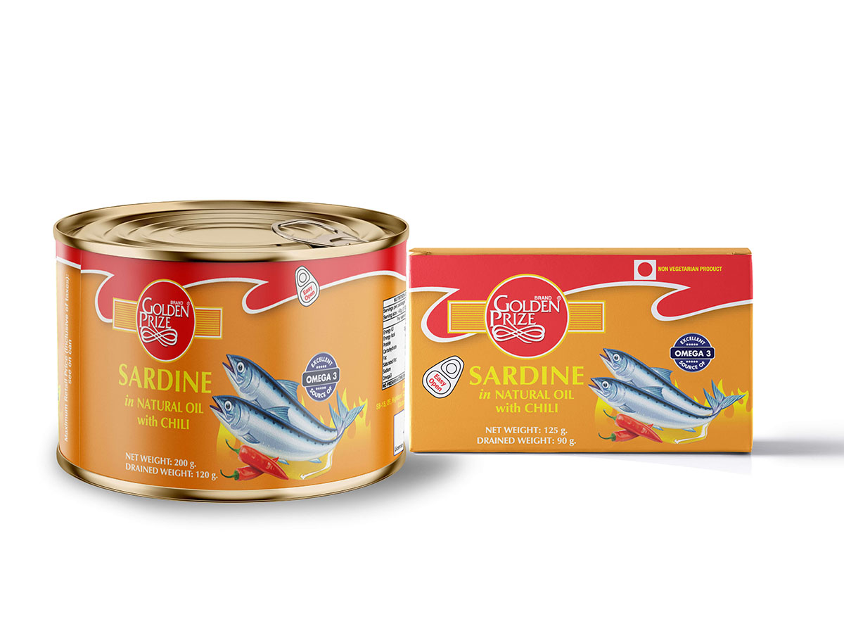 Sardines Sardine Natural oil chili