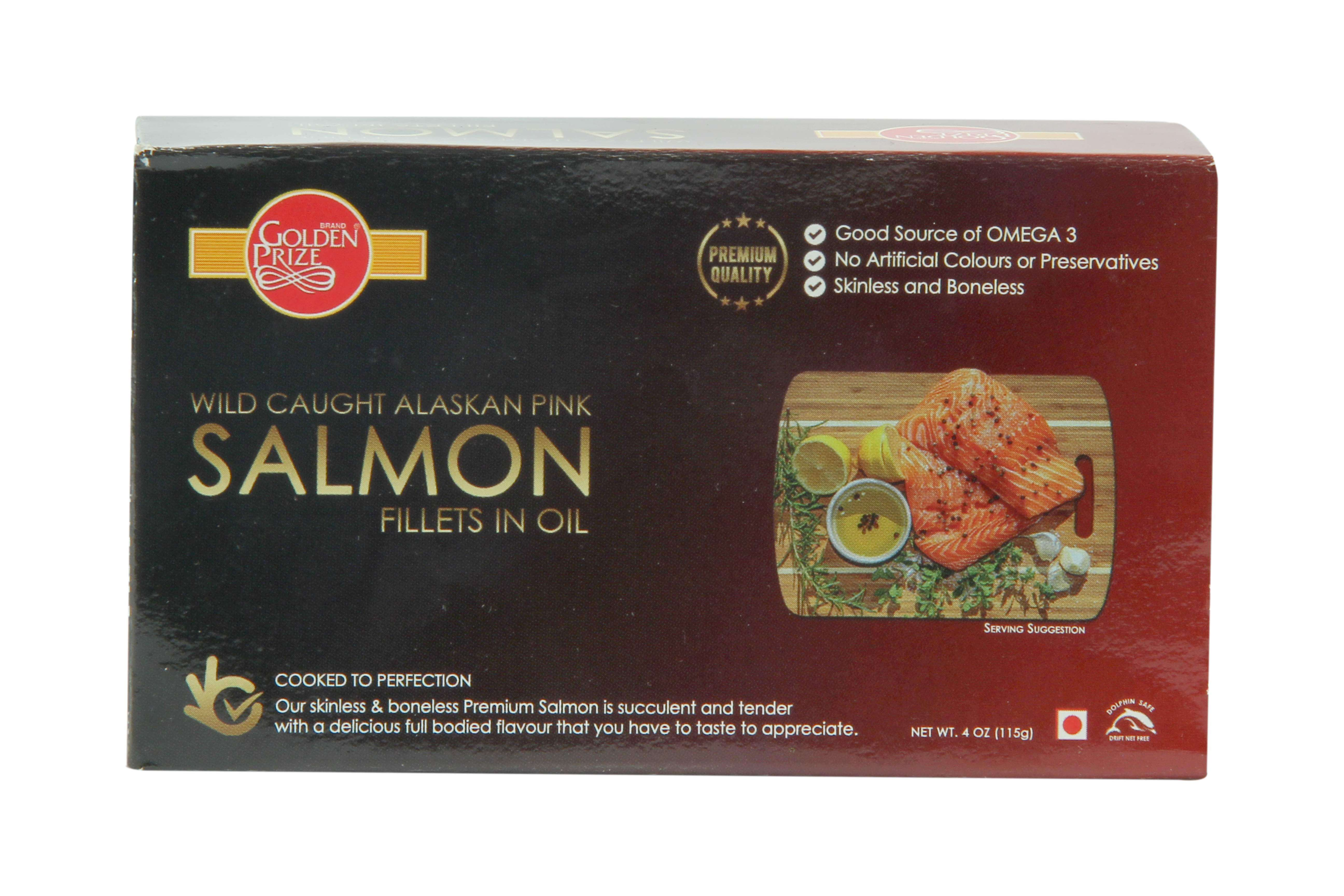 Salmon Fillets In Oil